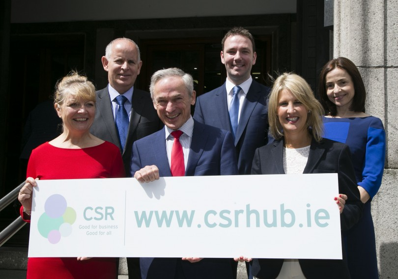 CSR Hub Launch with Minister Richard Bruton