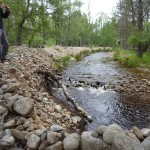Lower embankment upstream
