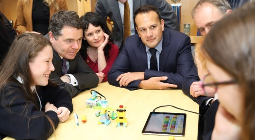 Ireland is the first country in Europe to adopt the P-TECH school model