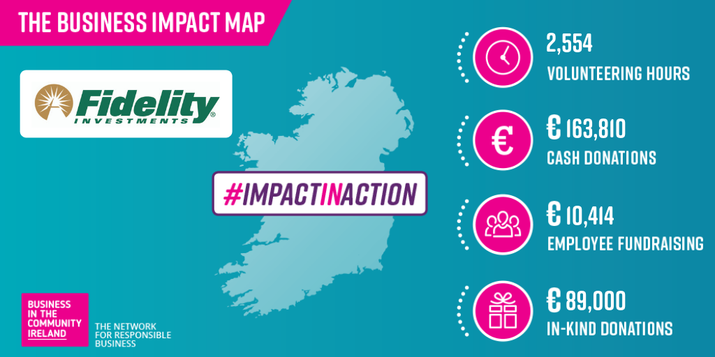 Fidelity Investments Ireland's lmpact Map - Business in the