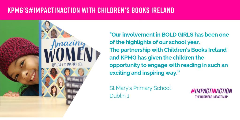 KPMG & Children's Books Ireland - Business in the Community