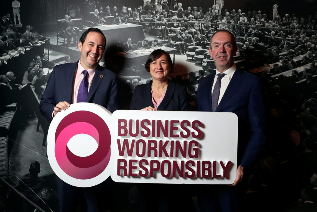 Tesco Aib Business working responsibly mark