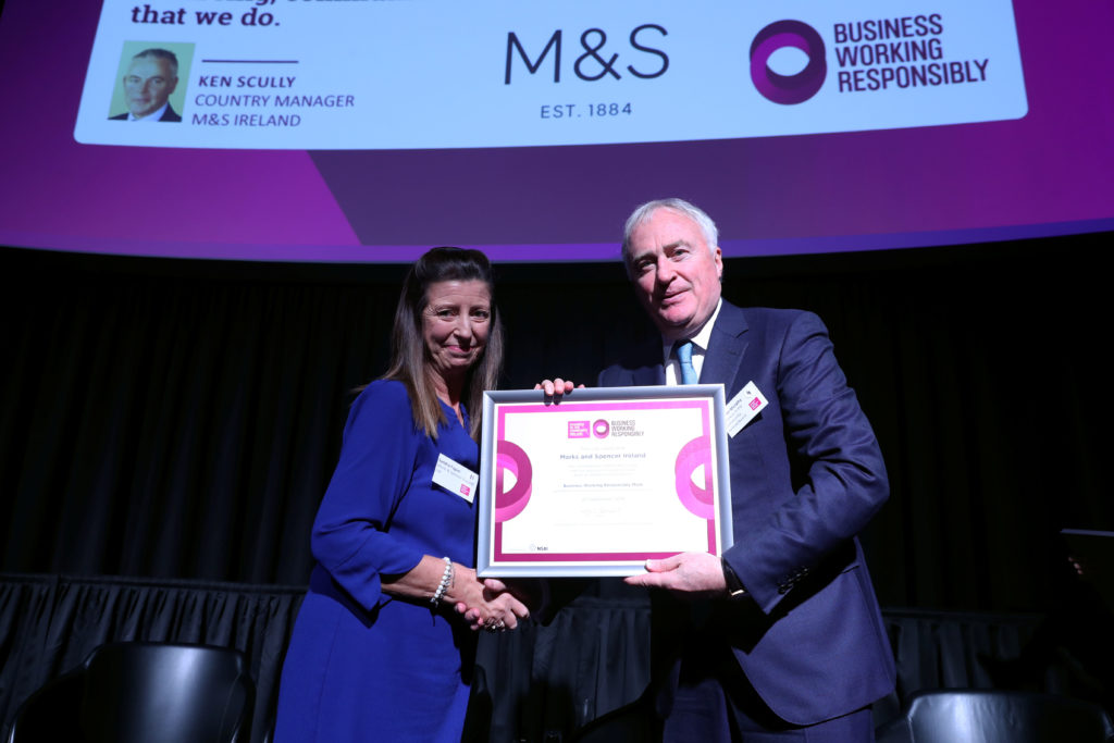 Sandra Fagan M&S Business Working Responsibly mark