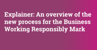 Business Working Responsibly Mark